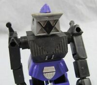 """Diotrax Robot Renegades 1983 Remco Action Figure 5.5"""" Purple Android Droid"""