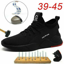 Safety Shoes Mens Womens Lightweight Steel Toe Cap Work Boots Trainers Shoes UK6
