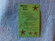 Vintage Postcard Other / Words - Stars of the Sea (c) 1957, Dexter Press