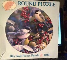 "BITS AND PIECES 1000 PIECE JIGSAW ""BIRDS"" blue tit birdS?"