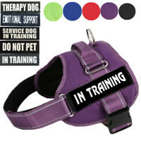 Emotional Support Dog Harness Pet ESA Service Harness Vest Reflective DO NO PET