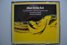Bach: complete opera Overtures-Halstead, the Hanover nastro - 3 CD CPO GERMANY