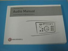 Vauxhall CAR2001-CCRT 2008 Radio Buch Betriebsanleitung Handbuch Original
