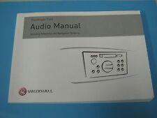 VAUXHALL CAR2001 - CCRT 2008   RADIO BOOK OWNERS MANUAL HANDBOOK GENUINE