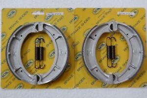 FRONT&REAR BRAKE SHOES+Springs fit YAMAHA RT 250 360 Enduro 1970-73 RT1 RT2 RT3