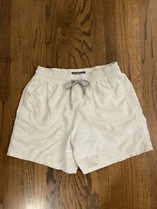 Vilebrequin Swim Trunks Shorts Size L Large White
