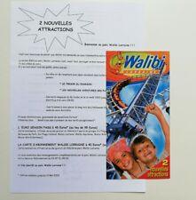 Freizeitpark - Walibi Lorraine - Waligator (heute) - Prospektmaterial - 2003