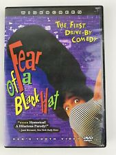 Fear Of A Black Hat 1994 DVD NTSC WS Cult Rap Spoof with Insert Out Of Print