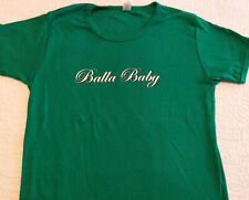 Rap/Hip-Hop Promo Women's T-Shirt - CHINGY - Balla Baby CAPITOL '04 GREEN L NM