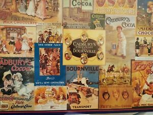 GIBSONS 1000 PIECE VINTAGE PUZZLE 'CADBURY COLLECTION' NEW AND SEALED