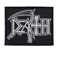 Death Logo Woven Patch