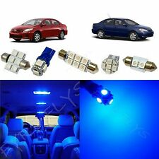 6x Blue LED lights interior package kit for 2003-2013 Toyota Corolla TC1B