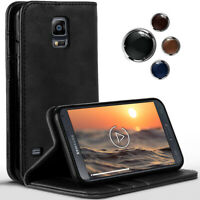 Livre Étui pour Samsung Galaxy S5 Mini 360 Degré Etui Coque Full Rabattable