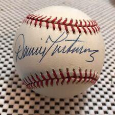 Dennis Martinez Expos Signed ROMLB NL Baseball