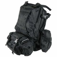 Coyote Military Police Tactical Backup Connectable Back Pack 28510 28511 Black