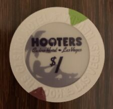 New listing Las Vegas Hooters Casino $1 Chip — Uncirculated Combining Shipping 50 % Off Item