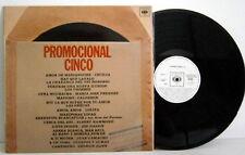 VARIOUS - LP Promocional Cinco CBS 1975 Cecilia, Chorbos, Las Grecas, Lolita...