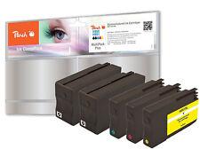 Peach 5er Pack pi300-702 pour HP 950 + 951 2x cn049ae cn050ae cn051ae cn052ae