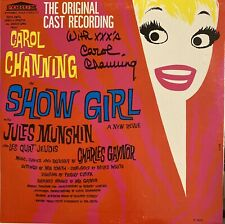 Carol Channing signed Autographed Lp Show Girl