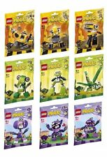 LEGO Series 6 Mixels - Complete Full set of 9 - All New & Sealed