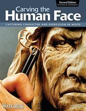 Carving the Human Face by Jeff Phares, NEW Book, FREE & FAST Delivery, (Paperbac