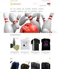 Bowling Sport Store - Amazon Affiliate/Dropship Website on AutoPilot + Free Host