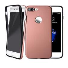 Handy Hülle 360° Full Cover für iPhone Samsung Case Schutz Tasche Displayschutz