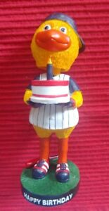 Toledo Mud Hens Muddy Bobblehead Happy Birthday! LIMITED 500 Stadium Give Away