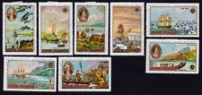 COOK ISLANDS 1968 James Cook Voyage Bicentenary 8v set incl Air Mail MH @S4797