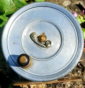 """Rare Hardy Uniqua small 2⅞"""" Fly Reel maker Thomas Armstrong traditional trout"""