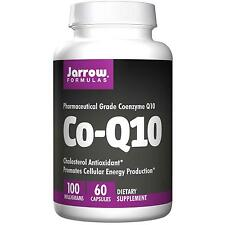 Jarrow Formulas Co-Q10 - 60 - 100mg Capsules - Cholesterol Antioxidant