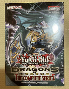 YuGiOh Dragons of Legend The Complete Series Box 1st Edition -Free Shipping