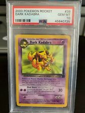 PSA 10 Gem Mint 2000 Pokemon Rocket 39 Dark Kadabra
