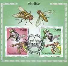 Timbres Insectes Abeilles Guinée Bissau BF532 o de 2010 lot 23397 - cote : 16 €
