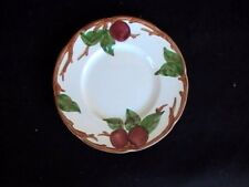 Franciscan Apple Bread/Butter Plate Cream Red Apples/Green Leaves/Brown Branch R