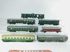 AZ503-2# 7x Fleischmann/Liliput etc H0/DC Bastler-Personenwagen etc SBB/DB/DR