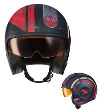 #SOLO Poe Dameron Star Wars #JEDI Rebel Fighter X-Wing #MOTORCYCLE Crash Casco