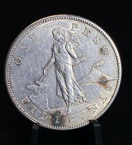 1903 S US Philippine 1 Peso Silver Coin