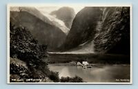LOEN, NORWAY - FRA KJENDALEN RESTAURANT - 1900s NORGE RPPC - ANTIKK FOTO - L2