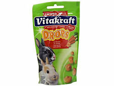 Vitakraft Drops para pequeños animales Zanahoria
