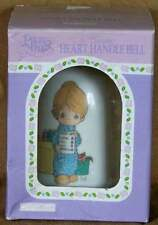 Precious Moments Ceramic Heart Handle Bell