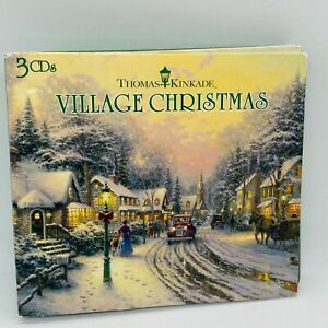 Thomas Kinkade Village Christmas 3 CDs Music Set