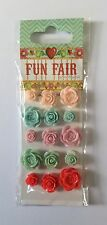 Fun Fair Adhesive Resin Flowers by Helz Cuppleditch