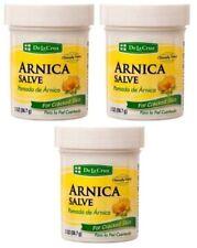 3x ARNICA SALVE De La Cruz Pomada De Arnica Soothing & Relief For Cracked Skin