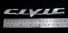 "Logo for Honda "" CIVIC "" Sign CHROME EMBLEM DECAL Car Parts 3D Bedge sport fit"
