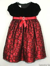 CINDERELLA 2T fancy dress red black BEAUTIFUL Christmas Holidays