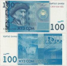 Kyrgyzstan 100 Som 2009 UNC**New