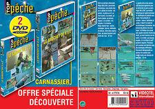 Lot 2 DVD Pêche des carnassiers n°1 : Le brochet de A à Z & Le sandre de A à Z