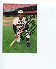 Tito Fuentes San Francisco Giants San Diego Padres Signed Autograph Photo