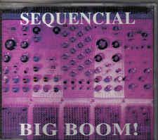 Sequencial-Big Boom cd maxi single eurodance holland